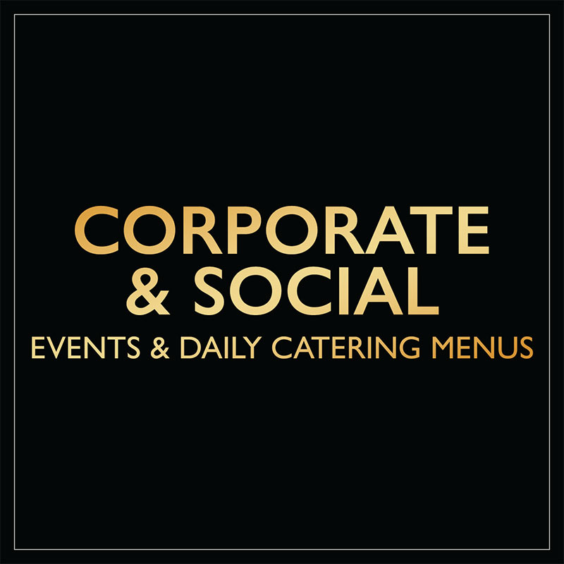 Corporate & Social Events and Daily Catering