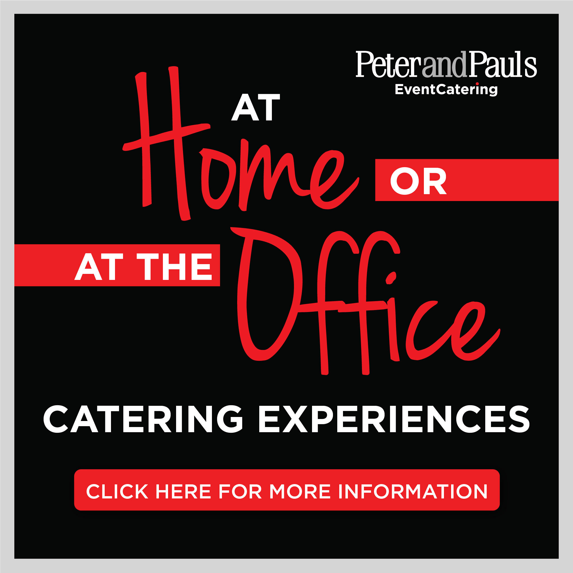 At Home or Office Catering Experience